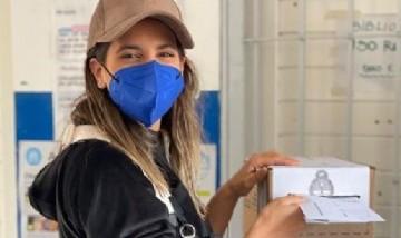 Cinthia Fernández obtuvo 90 mil votos en las PASO y lo celebró en redes sociales