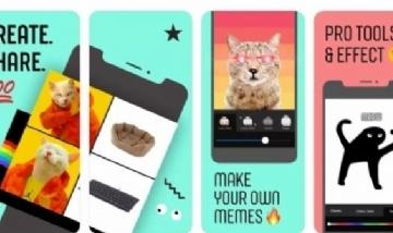 Cómo es Whale, la nueva app de Facebook para crear memes