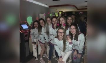 Las chicas del Colegio San José de Chajarí, Entre Ríos.