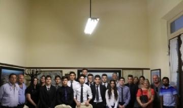 El intendente Puglelli reconoció a alumnos de la Escuela de Educación Técnica Nº 1.