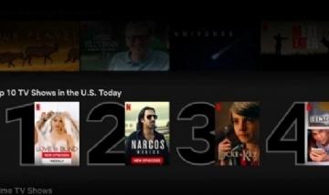 ¿Cómo acceder para ver la lista lo más visto en Netflix?