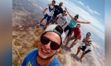 Tincho y sus amigos, Salar de Uyuni, Bolivia.