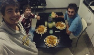 Gastón, Benja y Emiliano, Rosario, Santa Fe.