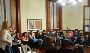 """""""Unión de Jóvenes por Chivilcoy"""" reunidos con Egresados 2019"""