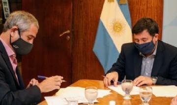 Ferraresi y Arroyo firmaron un acuerdo para capacitar a jóvenes en oficios