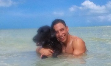 Chaio y su Perrito, Holbox Quintana Roo