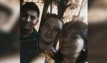 Sandra disfrutando la previa con amigos!, Chaco.
