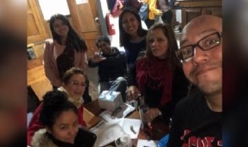 Lalo de previa con amigos en Lima, Perú