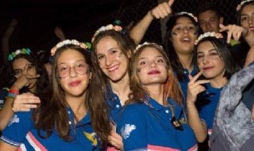 Las chicas de la promo 2020 del Instituto Suyai, San Luis.