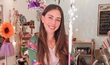 Juli festejando su cumple en Córdoba