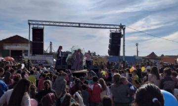Festejos del día de la niñez en Carmen de Areco