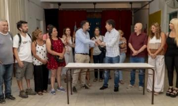 San Isidro y Nación refaccionarán escuelas provinciales del distrito
