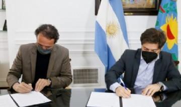 El Ministro Katopodis y Kicillof firmaron un acta de acuerdo para la finalización de obras en toda la provincia