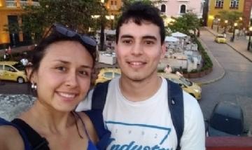 Xime y Joaquín desde Cartagena, Colombia.