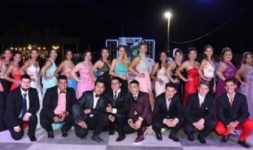 Egresados de la escuela J. Azurduy promo 2019 de Concordia, Entre Ríos.