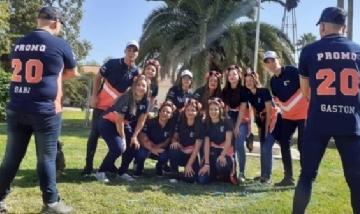 Los chicos de la promo 2020 desde Cañada de Luque, Córdoba.