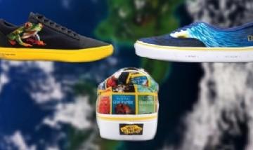 Vans y National Geographic presentaron su línea de zapatillas