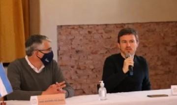 San Andrés de Giles: Puglelli recibió la visita del ministro bonaerense Costa
