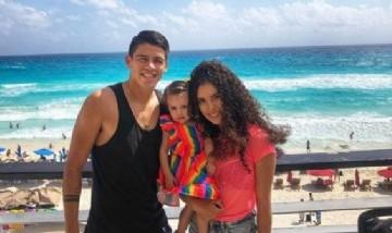 Gus, Kati y Yaz, Cancún, México.