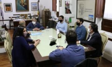 Carlos Puglielli recibió al secretario de Municipios de la Nación y pusieron en marcha Municipios de Pie