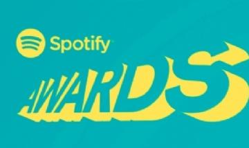 Se llevó a cabo la primer edición del los Spotify Awards