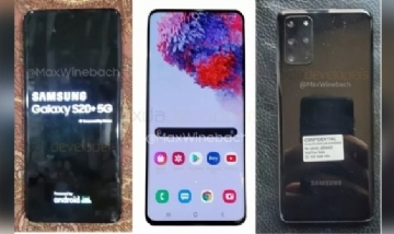 Nuevos smartphones Samsung Galaxy S20 y Galaxy Z Flip