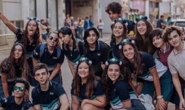 La promo 20 del Colegio Hispano Argentino. Desde Río Cuarto, Córdoba.