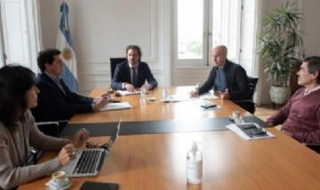 El Gobierno analiza la extensión de la cuarentena con Rodríguez Larreta y Kicillof