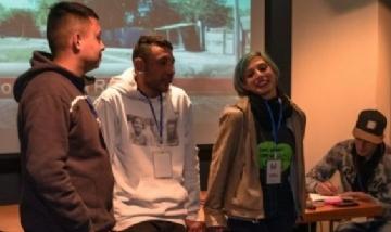 Jóvenes que construyen memoria juntan fondos para viajar a encuentro nacional