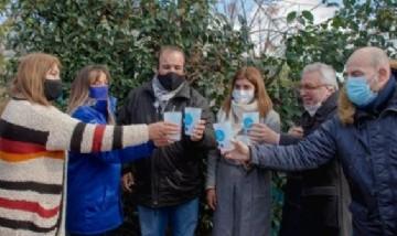 Malena Galmarini y Julio Zamora inauguraron una red de agua potable para más de 1600 vecinos