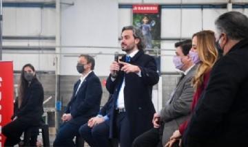 """Cafiero lanzó un plan de empleo joven: """"Estamos generando que las juventudes tengan una oportunidad de trabajo"""""""