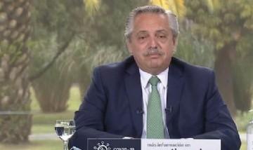 Alberto Fernández ratificó su compromiso con la legalización del aborto