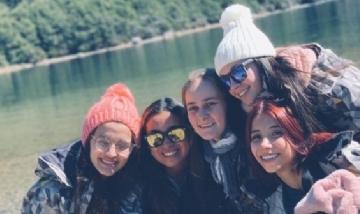 Maca y sus amigas en Bariloche
