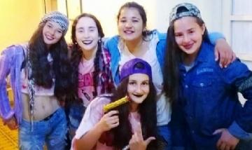 Josefina y sus amigas. Peña, Las Chulas de Berazategui.