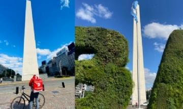 Postales del obelisco en distintos ángulos, gracias Daniel por éstas imágenes!