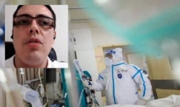 """""""Vi morir a mi padre en una videollamada"""", el desgarrador relato de un médico colombiano"""