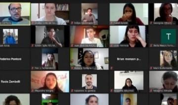 El primer conversatorio federal de jóvenes líderes llegó al congreso nacional