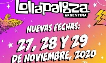Confirmaron las nuevas fechas del Lollapalooza Argentina