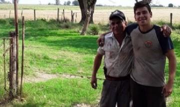 Juan y Cacho desde Alcorta, Santa Fe.