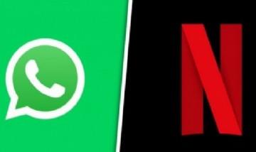 Netflix y WhatsApp presentan nueva función conjunta
