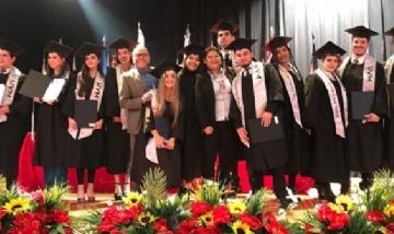 Egresados 2019 del UVM Campus de Monterrey, México.