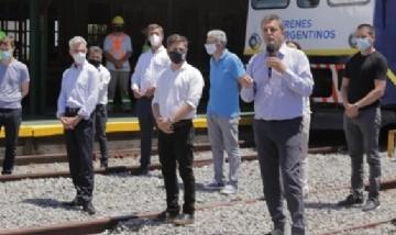 """Massa: """"cuando el interior ve que vuelve el tren, ve que vuelve el federalismo"""""""