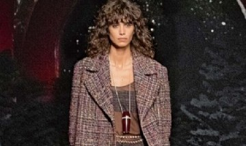 Belleza argentina: Mica Argañaraz fue una de las estrellas en el desfile de Chanel
