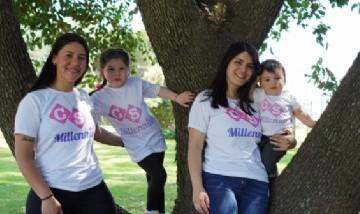 Madres Millennials Sami y Ámbar. Mari y Dante