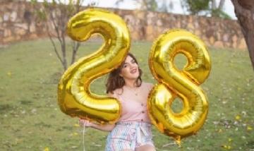 Carla en su cumpleaños numero 28. Santa Fé.