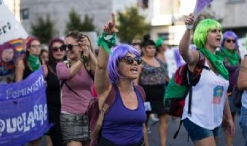 Una multitudinaria marcha coronó el ENM