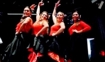 """El grupo de """"Macarena Danzas Españolas"""""""