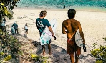 Juan y Fede disfrutando sus vacaciones en Brasil