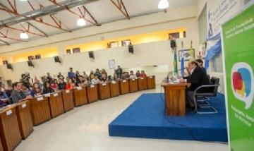 Berazategui fue sede del Parlamento Juvenil del Mercosur