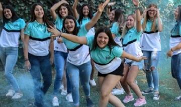 La promo 2020 del colegio MIR, Buenos Aires.